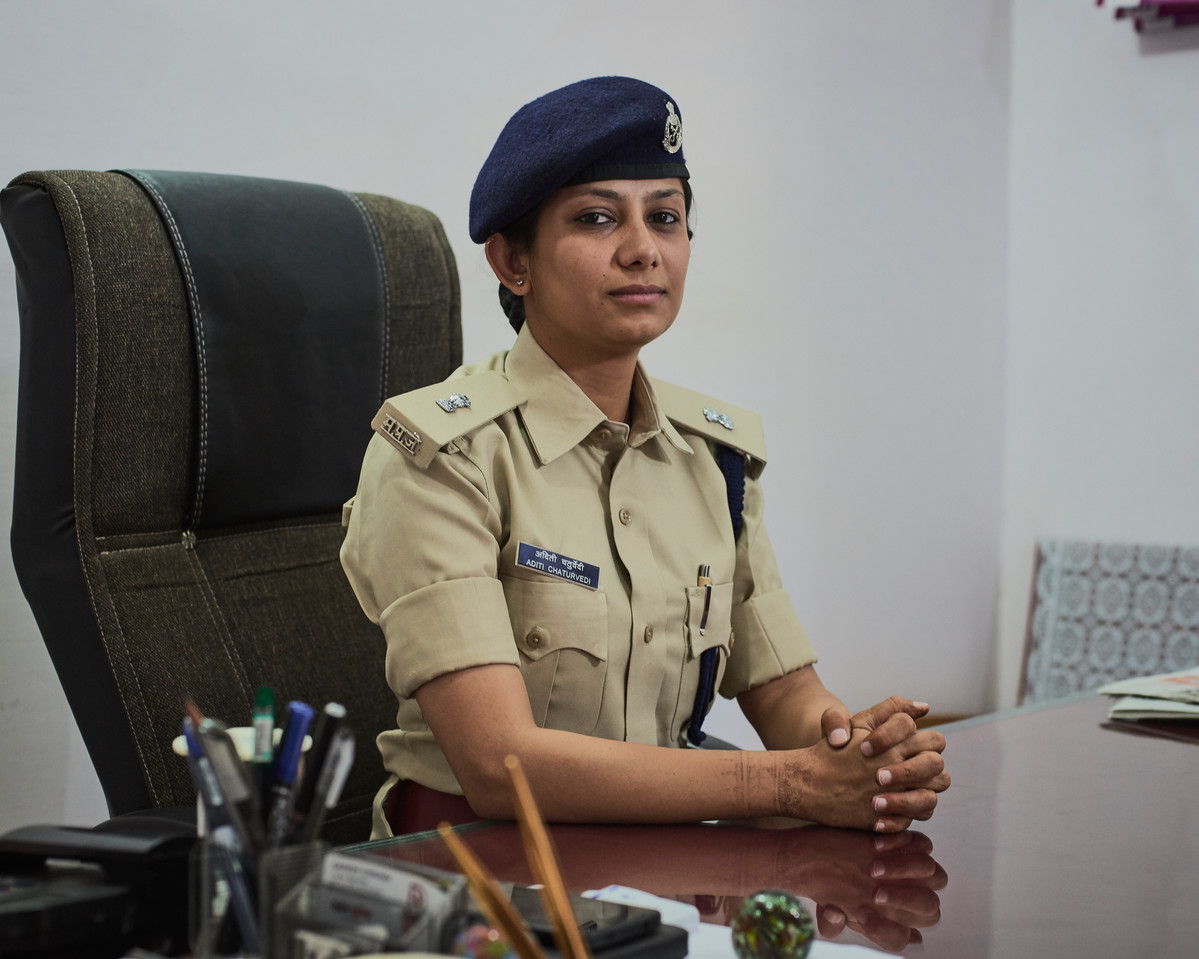 Aditi Chaturvedi, Superintendent of Indore District Jail, Madhya Pradesh, India