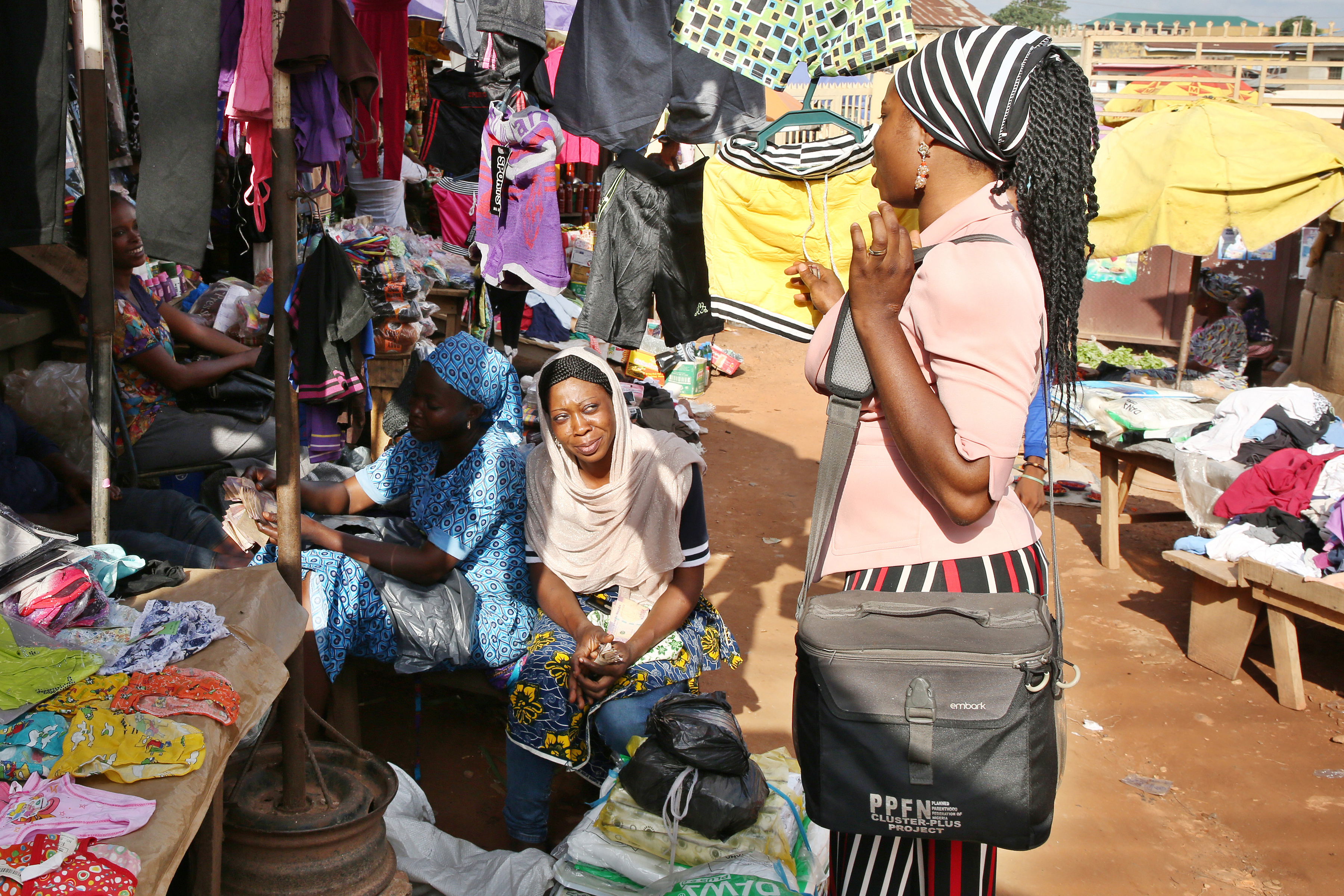 Market outreach in Nigeria