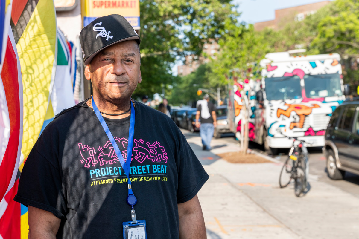 Eric Fairchild has worked for Planned Parenthood's Project Beat Street bus for 12 years