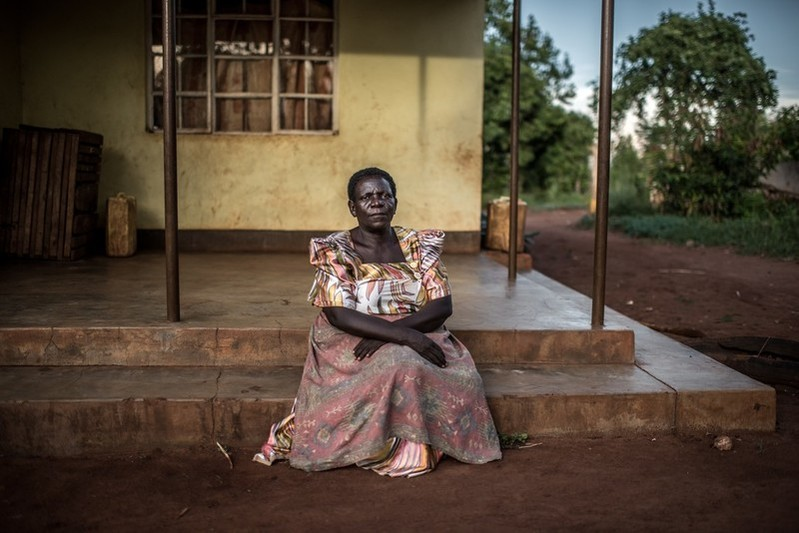 A mother in Uganda helps the IPPF-funded project VODA on safe abortion
