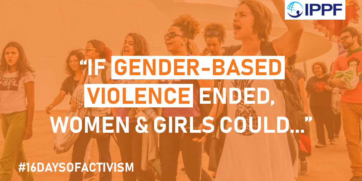 16 days of activism again GBV - share on social media!