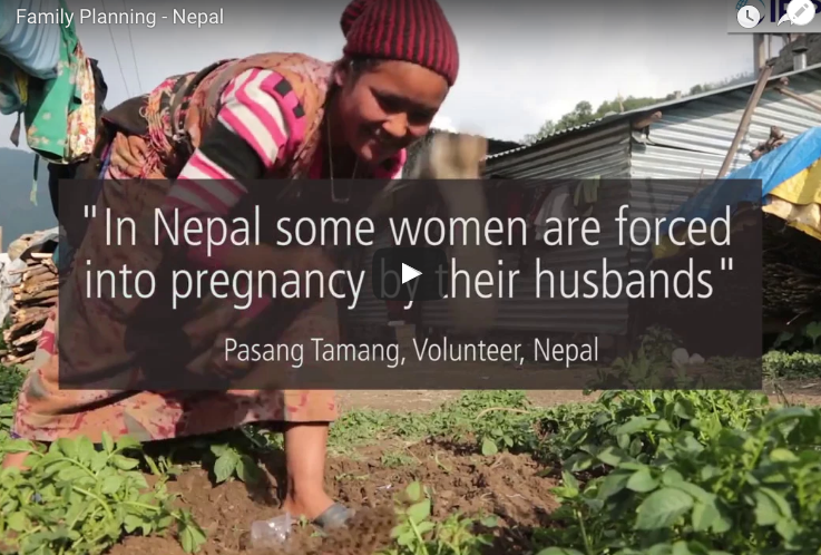 thesis on family planning in nepal The impact of the 2015 earthquake on women in nepal by christina rajbhandari a thesis submitted in partial fulfillment of the requirements family planning.