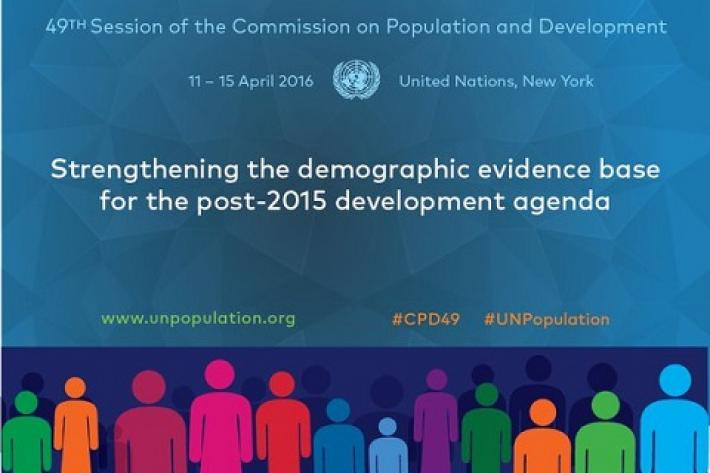 Today, at the United Nations Commission on Population and Development (CPD), governments from across the world renewed their commitment to realising the International Conference on Population and Development (ICPD) Programme of Action to improve the lives of women and girls.