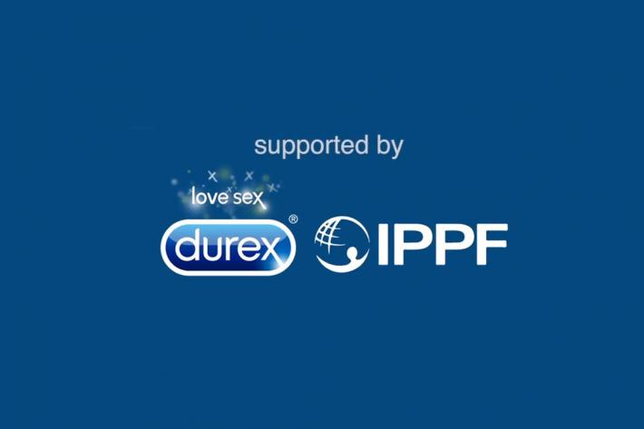 Durex and IPPF logos