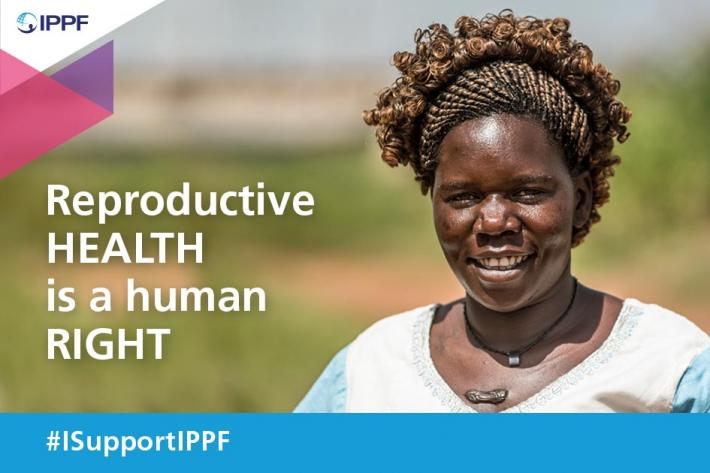 Reproductive health is a human right. #ISupportIPPF