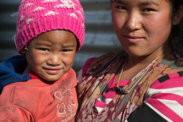 Young Nepalese girl receives family planning help from IPPF after forced marriage