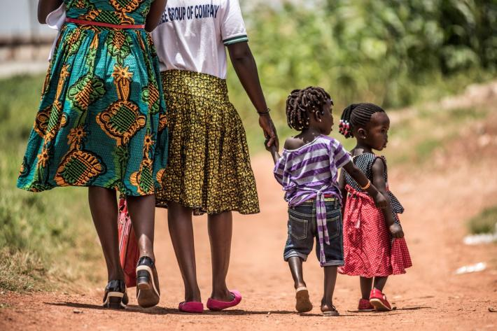 women and children in Gulu, Uganda, Credits: IPPF/Tommy Trenchard/2016