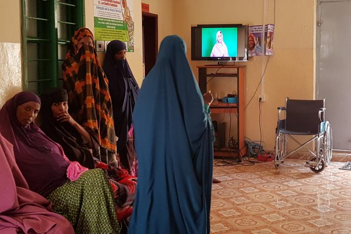 Clinic in Somaliland