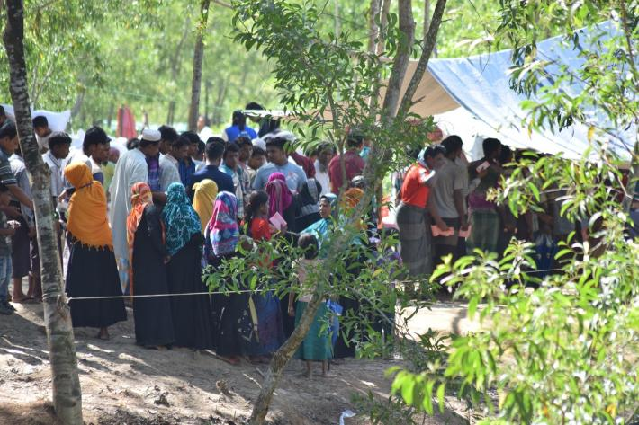 Rohingya refugees in Bangledesh