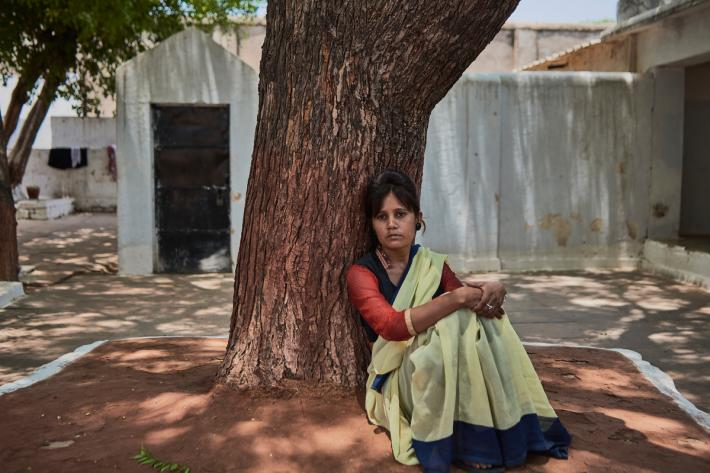 Gayatri is serving 20 years in prison, India