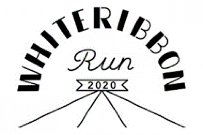White Ribbon Run 2020 logo