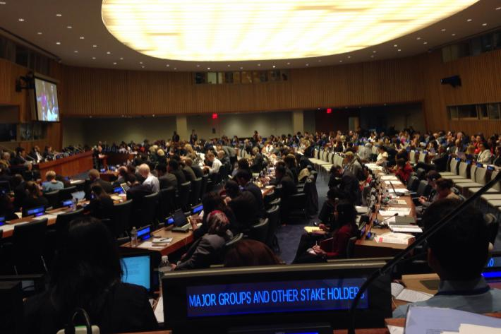 session at the UN