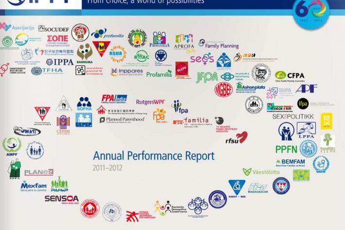 2011 Annual Performance Report cover