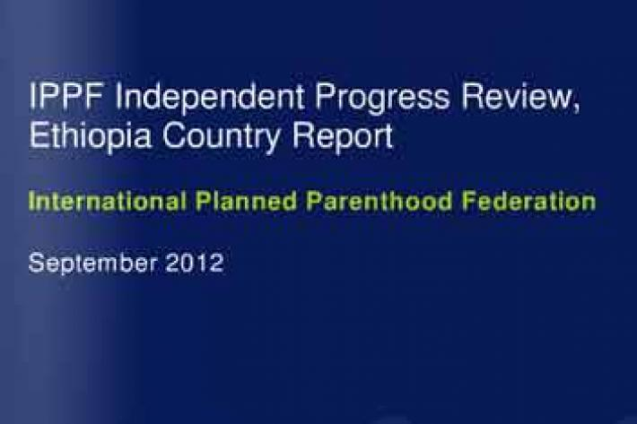 Independent Progress Review