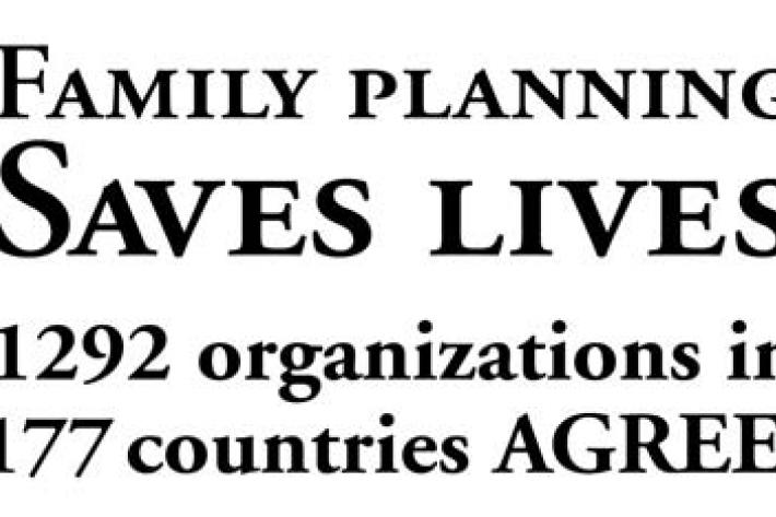 IPPF civil society declaration for the Family Planning Summit for Melinda Gates