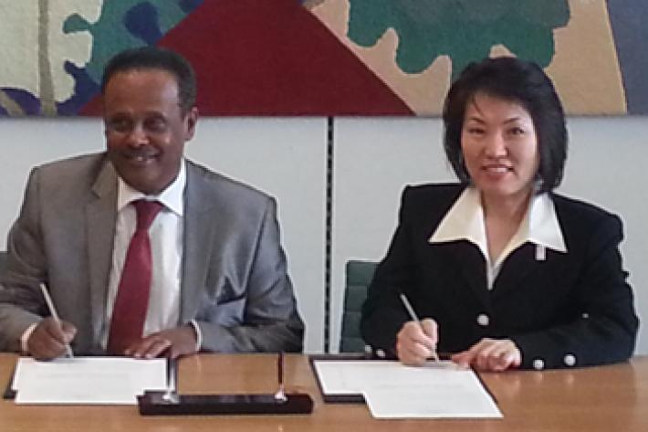 Memorandum of Cooperation on Strategic Partnership with Japanese Ministry & IPPF