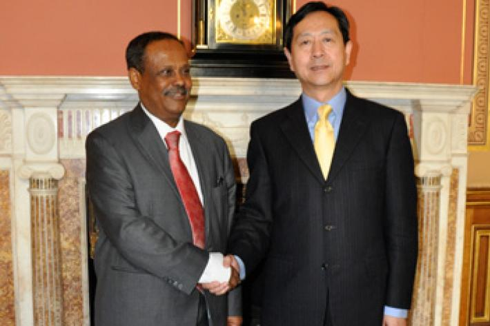 IPPF's Director General, Tewodros Melesse met the Chinese Vice Health Minister, His Excellency Dr Chen Xiaohon