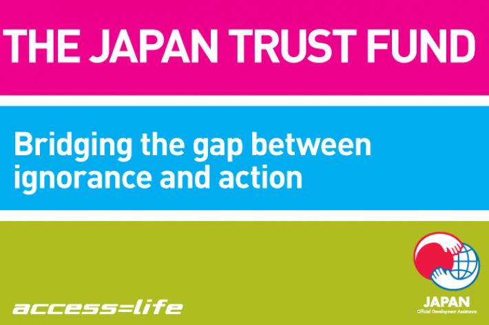 Japan Trust Fund: Bridging the gap between services and information