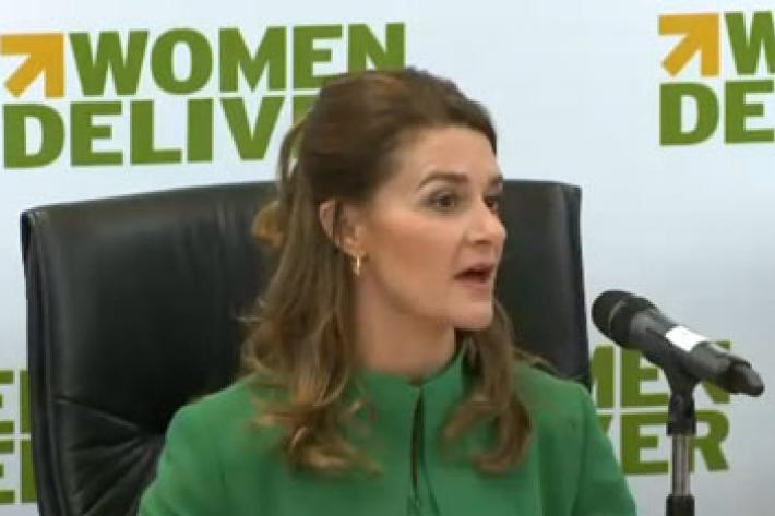 Melinda Gates at Women Deliver