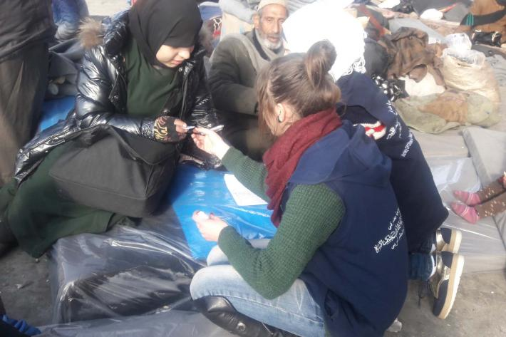 Syrian Family Planning Association gives medicines and counselling to women.