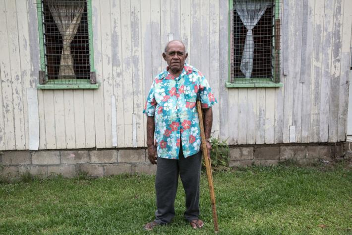 Ratu Meli Tovelo is chief in his village of Naiserelagi in Ra Province.