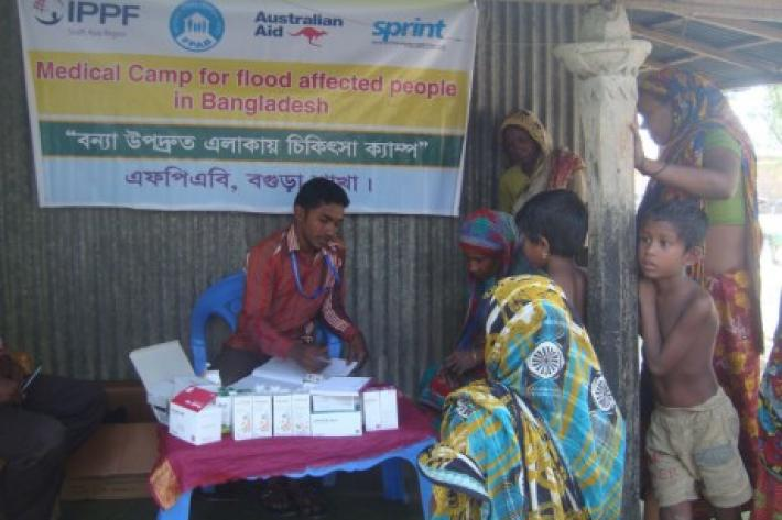 In 2014, SPRINT funded emergency sexual and reproductive health services in response to flooding in the Bogra, Jamlpur, Gaibandha and Kurigram districts of Bangladesh.