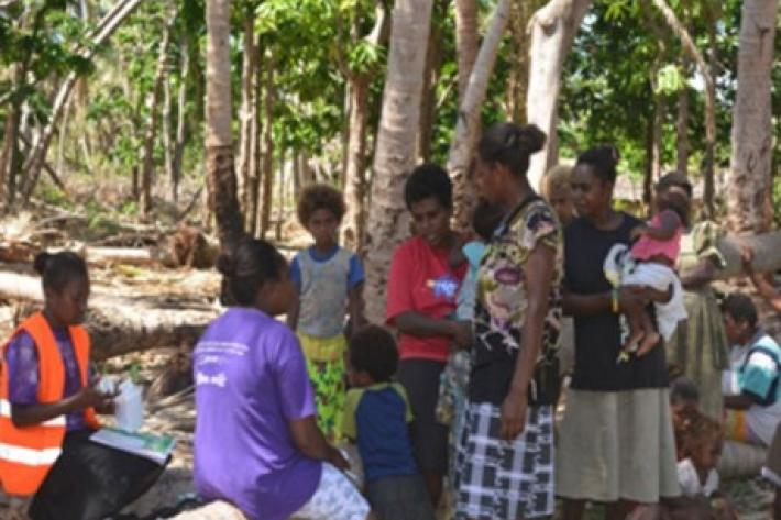 The SPRINT Initiative with the Vanuatu Family Health Association provide relief to those affected by Cyclone Pam.