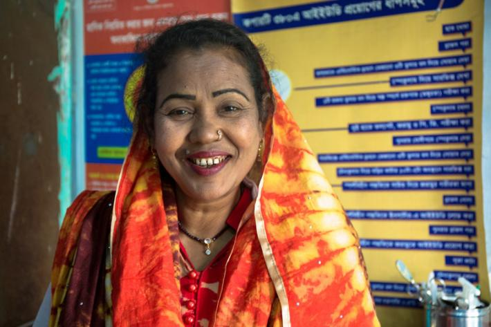 "Kohinoor Begum, who has worked at the Daulatpur Family Health and Welfare Center for 18 years, says the seasonal flooding often means trouble for those seeking medical services.   ""During floods roads are blocked and so people have to use boats to reach the nearest usable road,"" Begum says. ""I have to visit homes of clients and clients, but during floods I cannot visit them and most people also cannot visit the centre. In such scenarios a miscarriage can sometimes happen."""