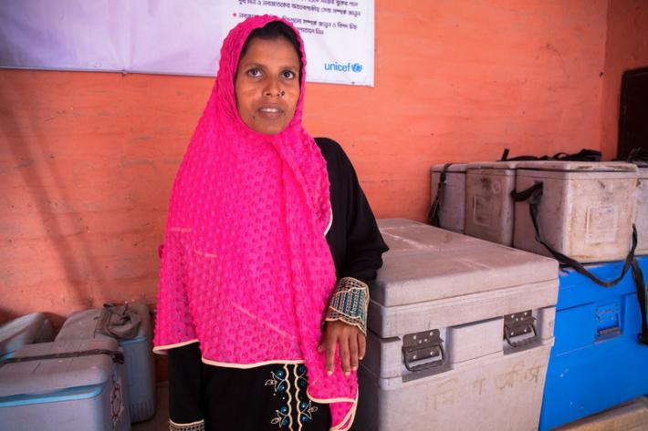 "Poly, 32, explains how six months ago her period stopped. Assuming she was pregnant she showed no other symptoms or physical changes.    ""My husband, father, and mother-in-law thought that my pregnancy had been eaten by a bad spirit,"" Khatun says. ""But when I came to the hospital the [doctor] found that I was only 3 weeks pregnant.""   Concerned about health complications she decided to undergo menstrual regulation."