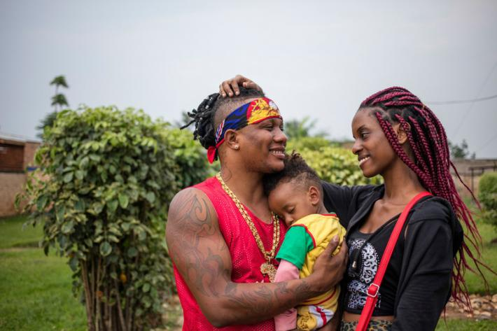 "Burundian musician, Lolilo Simba and his wife Loliane, 22, say it is ""because of ABUBEF we have a baby, our wonderful son Salum. This clinic is important not just to us. It does a lot of good for all the community of Bujumbura."" Loliane had experienced three miscarriages before getting pregnant for a fourth time. ""I want to share the story of the help we received here in ABUBEF. I am sure it is because of the perfect customer care and wonderful people that work here."""