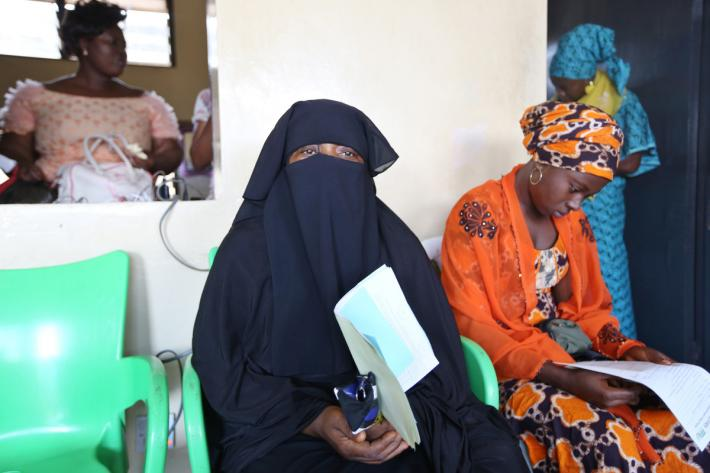 IPPF client receives cervical cancer screening