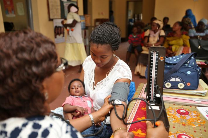 Mother from Nigeria receives health care IPPF