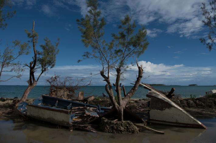 In February, Tonga was hit by tropical cyclone Gita, the worst cyclone to hit the island in over 60 years, causing wide-spread damage.