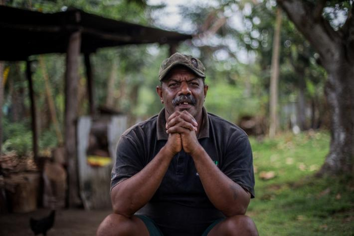 """Rape is a big problem in Vanuatu in general, including on Ambae. If a young man likes a woman, he can feel like it's his right to have sex with her and can force her. In rape cases, the chief is required to refer the case to the police. There are some cases of young girls walking to and from school and getting raped. Sometimes they keep it a secret due to shame. We have to teach young people about safe sex in school"", says Pastor Solmon Aru."