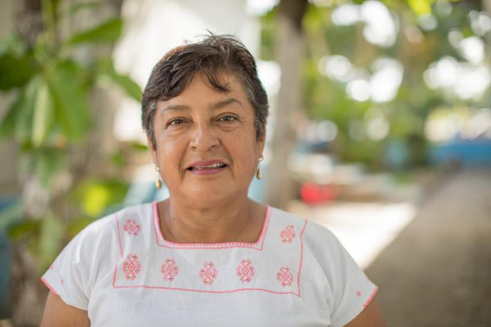 """I was very scared, it didn't stop - it was endless"", says Beatriz, Mexfam Clinical Operations Director. ""I nevery imaged remotely how much it would impact the community. I immediately thought of the clinic - how was the clinic""."