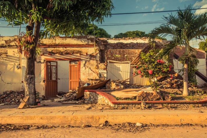 Since the earthquakes, Ixtaltepec and the surrounding area has experienced thousands of aftershocks.