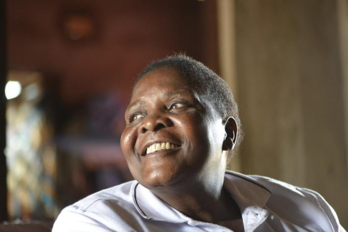 "Albertina Machaieie has been working with HIV patients for Amodefa for 38 years and is their longest serving nurse. Albertina now heads up Amodefa's home care programme which provides medical, nutritional and emotional support to HIV positive patients living in the poorest suburbs of Maputo. longest serving nurse. ""I'm going to work forever,"" she says. ""I like helping people, that's why I do this job."""