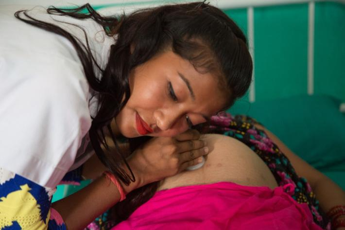 For millions of Nepali women, the only professional care they receive throughout their pregnancies is from nurses and midwives, not doctors.