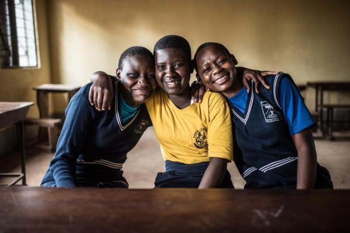 Sharon, Ritah and Mabel are just three of the 99 VODA-trained student counsellors in their community. Peer educators in schools provide counselling and advice to other students, who otherwise would have no one to turn to in times of crisis.