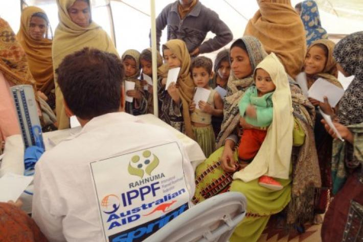 IPPF medical camp