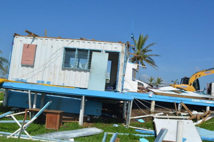 In February 2016, Cyclone Winston ravaged the Pacific Islands over three days. Fiji was left with wide-spread devastation leaving many homes and amenities destroyed.