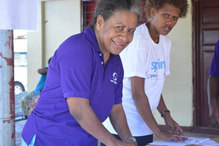 IPPF-SPRINT staff in Fiji