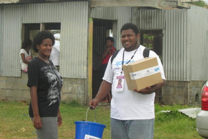 We're providing essential dignity and hygiene kits