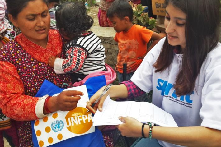 IPPF through its SPRINT initiative continues to scale up its relief operation in Nepal