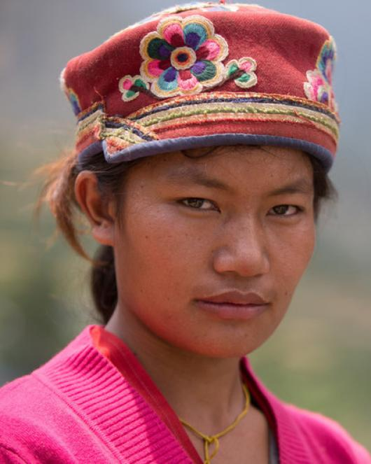 Young nepalese female farmer, IPPF, FPAN