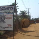 Entrance of the Family Planning Association of Malawi