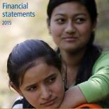 Financial Statement 2015 cover