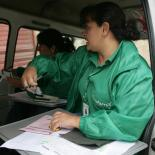 mobile clinic in Colombia
