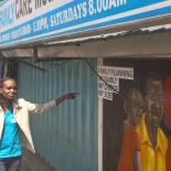 IPFP youth worker in Kenya