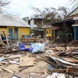Street in Vanuatu after the Cyclone